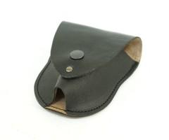 Чехол для наручников «БРС» (кожа) черный