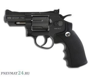 """Пневматический револьвер Gletcher SW R25, пулевой (2,5"""")"""