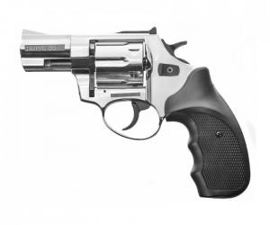 """Охолощенный СХП револьвер Taurus-СО Kurs (2,5"""") 10ТК, хром"""
