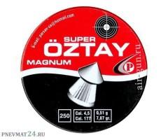 Пули Super Oztay Super Magnum 4,5 мм, 0,51 грамм, 250 штук