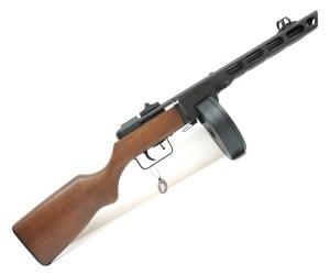Страйкбольный пистолет-пулемет Snow Wolf PPSH EBB, пластик под дерево (SW-09)