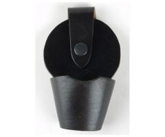 Чехол для наручников «БРС» открытый (кожа, черный)