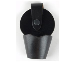 Чехол для наручников «БРС» открытый (кожа) черный