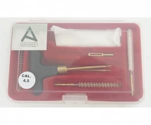 Набор для чистки Nimar пистолетный, калибр 4,5 мм, пластик. коробка