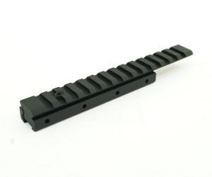 Планка-переходник с «ласточкин хвост» на Weaver, с выносом, 150 мм (BH-MR11)