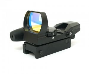 Коллиматорный прицел SightecS Laser Dual Shot Reflex Sight (FT13002)