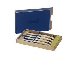 Набор кухонных ножей Opinel серии Table Chic №10 (4 ножа) клинок -10 см, рукоять - ясень