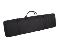 Кейс Vektor  из капрона черный с крепл. Molle, рюкзачными лямками и доп. отдел. (А-4 ч)