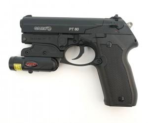 Пневматический пистолет Gamo PT-80 Combo laser
