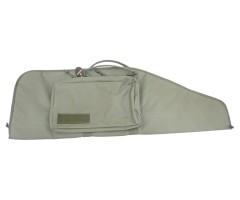 Кейс тактический Vektor из капрона зеленый с карманом, 95x30 см (А-102 з)
