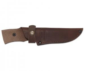 Чехол кожаный для нескладного ножа №3