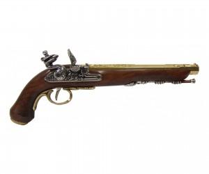 Макет пистолет для дуэли, Версаль, латунь (Франция, 1810 г.) DE-1134-L