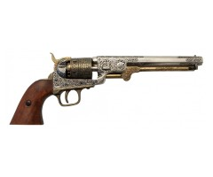 Макет револьвер морского офицера, Кольт, латунь (США, 1851 г.) DE-1040-L
