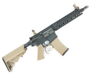 Страйкбольный автомат G&G CM18 MOD1 Black/Desert (EGC-18P-MD1-BNB-NCM)