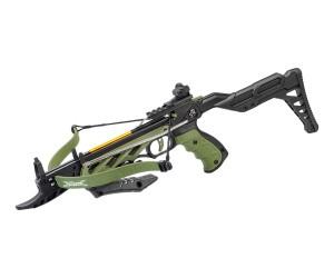 Арбалет-пистолет Man Kung MK-TCS2-G Alligator, регул. приклад (зеленый)