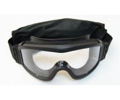 Очки защитные Daisy Tactical XT, 3 сменные линзы, Black (TD-RK3-BK)