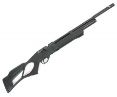 Пневматическая винтовка Hatsan Flash QE (PCP, модератор, 3 Дж) 5,5 мм