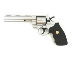 Страйкбольный револьвер Galaxy G.36S (Colt Python) серебристый