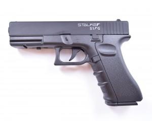 Пневматический пистолет Stalker S17G (Glock 17) металл