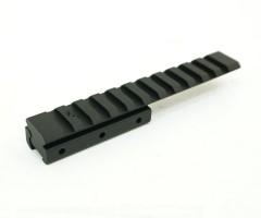 Планка-переходник с «ласточкин хвост» на Weaver, с выносом, 125 мм (BH-MR21)
