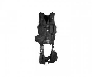 Разгрузочный жилет UTG Leapers тактический, 10 предметов, черный (PVC-V747KTB)