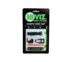 Комплект HiViz C400-1 из мушки и целика (модели TS-1002 и M400)