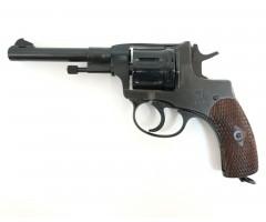 Охолощенный СХП револьвер Наган СО-95/9 (ТОЗ) 9x19
