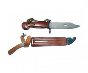 ММГ штык-нож ШНС-001-02 (АКМ / АК-74), коричн. рукоять бакелит