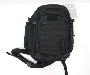 Рюкзак тактический UTG 2-Day Black, внешние карманы, 48x38x22,8 см (PVC-P248B)