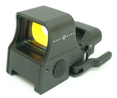 Коллиматорный прицел Sightmark Ultra Shot QD Digital Switch, панорамный, 4 марки (SM14000)