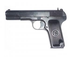 Охолощенный СХП пистолет ТТ-СХ (Токарева) 10x31