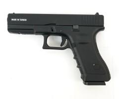Страйкбольный пистолет KJW Glock G17 CO₂, металл. затвор (KP-17-MS.CO2)