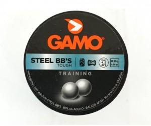 Стальные шарики Gamo BB'S 4,5 мм, 500 штук