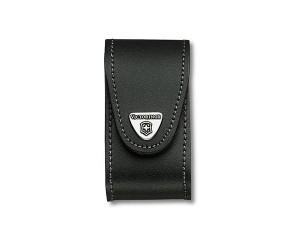 Чехол Victorinox 4.0521.31 (кожа, для ножей 91 мм, с поворотной клипсой)