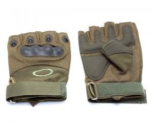 Перчатки тактические укороченные Oval (хаки)