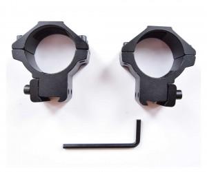 Кольца 30 мм на «ласточкин хвост», низкие (BH-RS30)