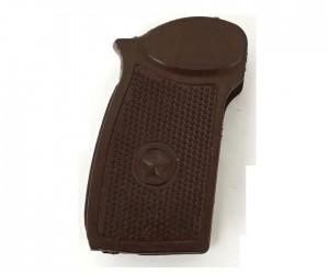 Резиновая рукоятка коричневая для ПМ, МР-371