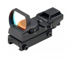 Коллиматорный прицел Target Optic 1x22x33, открытый, на Weaver, 4 марки