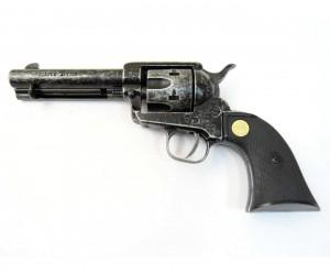 Сигнальный револьвер Colt Peacemaker M1873 (античный)