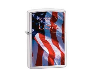 Зажигалка Zippo 24797 Made in USA Flags