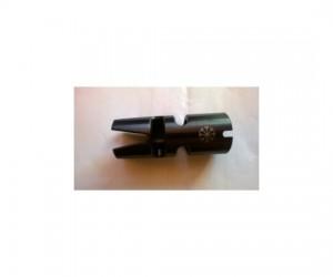 """Дульный компенсатор """"КАМЕРТОН АК14"""" двухкамерный, тип ВЕПРЬ/САЙГА, резьба 14 мм, левая, шаг 1"""
