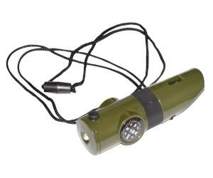 Компас Н 7-1B, свисток, длинный, термометр, шнурок