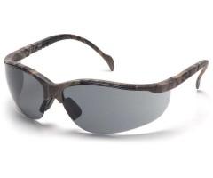 Очки стрелковые Pyramex Venture 2 SH1820S, камуфляж, темно-серые линзы