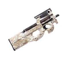 Страйкбольный пистолет-пулемет King Arms FN P90 Tactical DD (KA-AG-125-DD)
