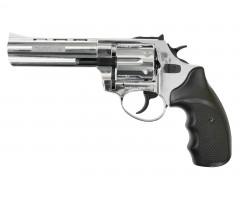 """Охолощенный СХП револьвер Taurus-СО Kurs (4,5"""") 10ТК, хром"""