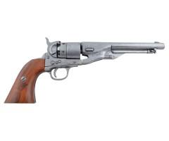 Макет револьвер Кольт, сталь (США, 1860 г., Гражд. война) DE-1007-G