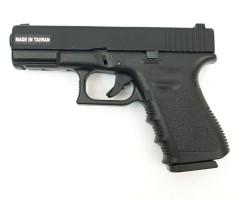 Страйкбольный пистолет KJW Glock G23 Gas, металл. затвор