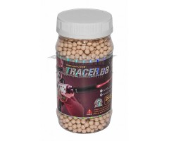 Шары трассерные G&G Tracer 0,25 г, 2400 штук (красные) G-07-213