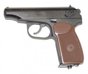Пневматический пистолет Baikal МР-654К-20 (ПМ, Макарова)
