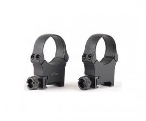 Кольца EAW раздельные быстросъемные на Weaver, кольца 30 мм, высота 18 мм., материал - алюминиевый сплав